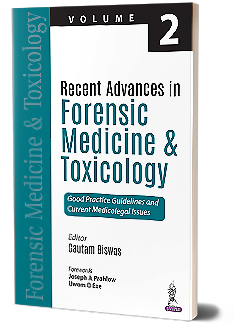 Jaypeedigital Recent Advances In Forensic Medicine Toxicology Volume 2