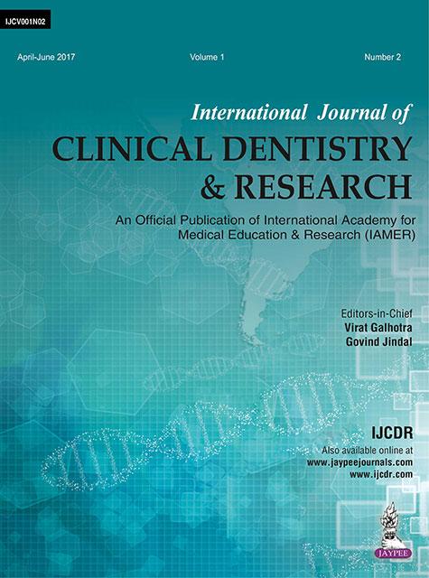 JaypeeDigital | International Journal of Clinical Dentistry