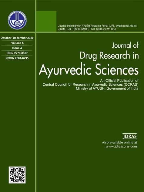 JaypeeDigital   Journal of Drug Research in Ayurvedic Sciences